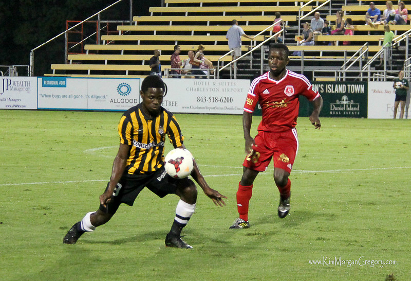 2014-06-27 Andre Lewis and Samuel Asante.jpg