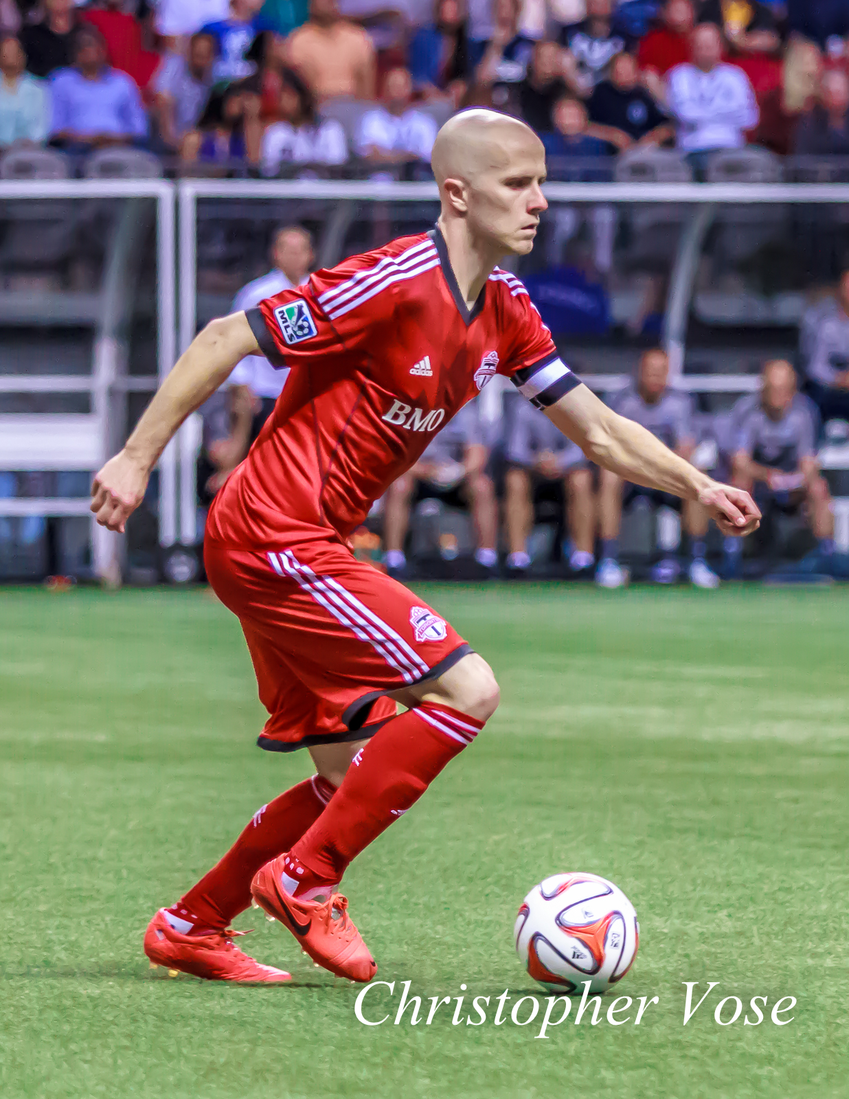 Michael Bradley was one of three Designated Players Toronto employed against the Whitecaps on Wednesday.