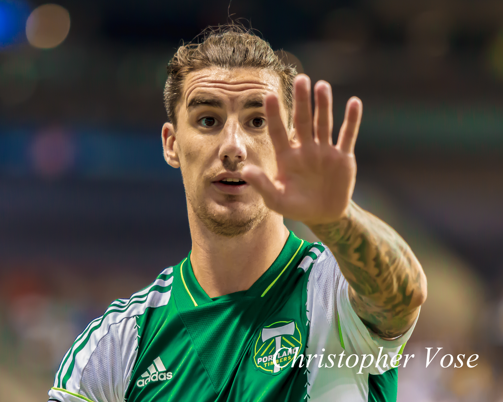 For a professional athlete, Liam Ridgewell is surprisingly camera shy.