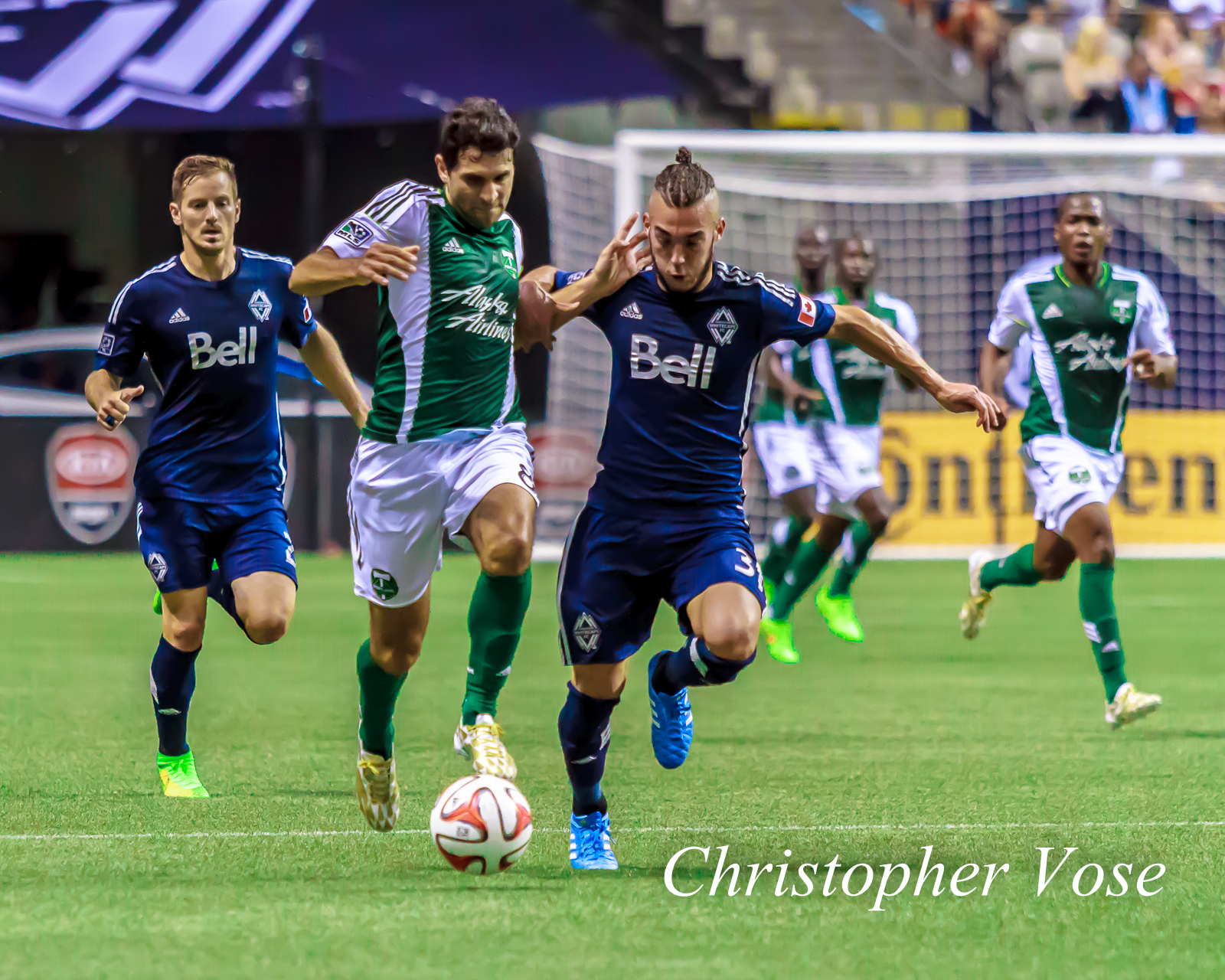 Diego Valeri had a quiet night, but then again, so did Russell Teibert, as they cancelled each other out.