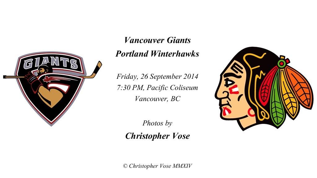 2014-09-26 Round 02; Vancouver Giants v Portland Winterhawks.jpg