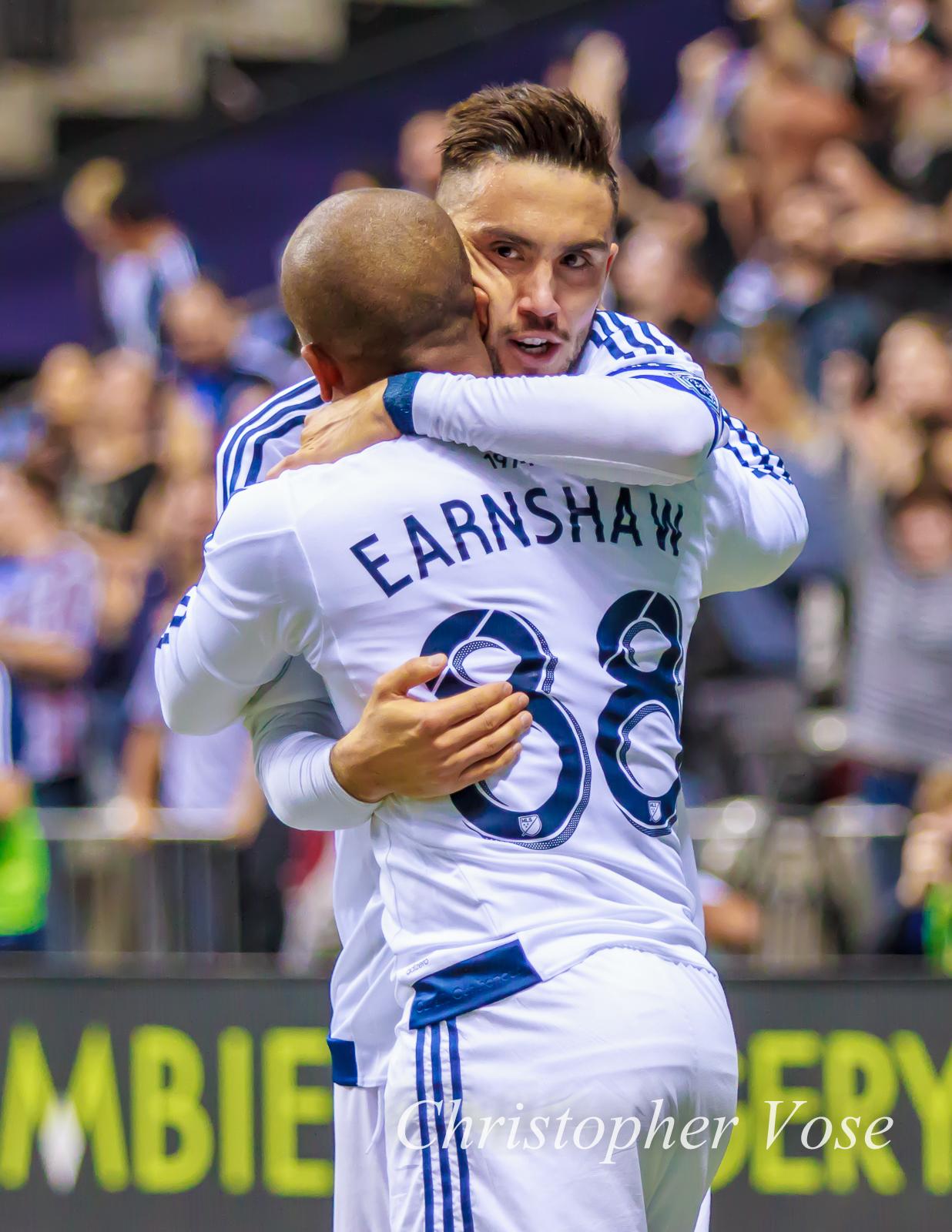 2015-03-28 Robert Earnshaw and Pedro Morales Goal Celebration.jpg