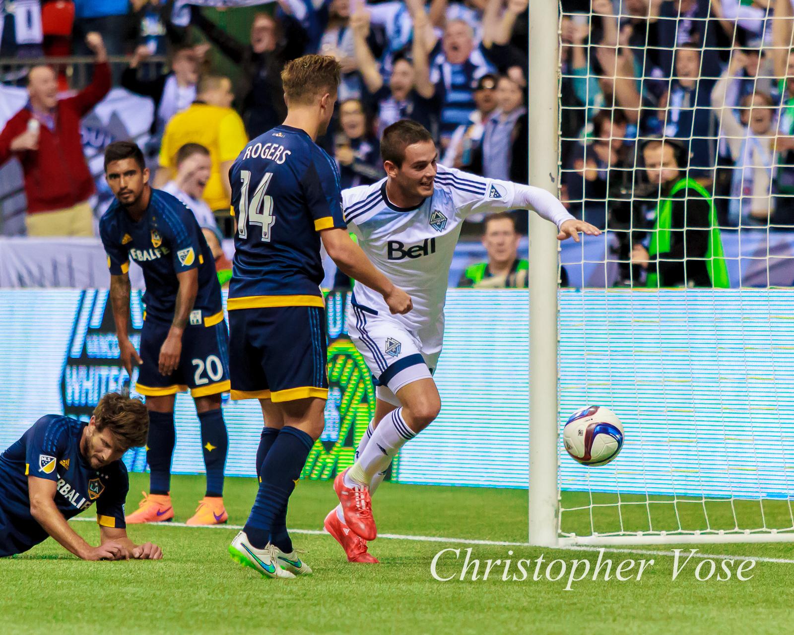 2015-04-04 Octavio Rivero Goal Celebration 1.jpg