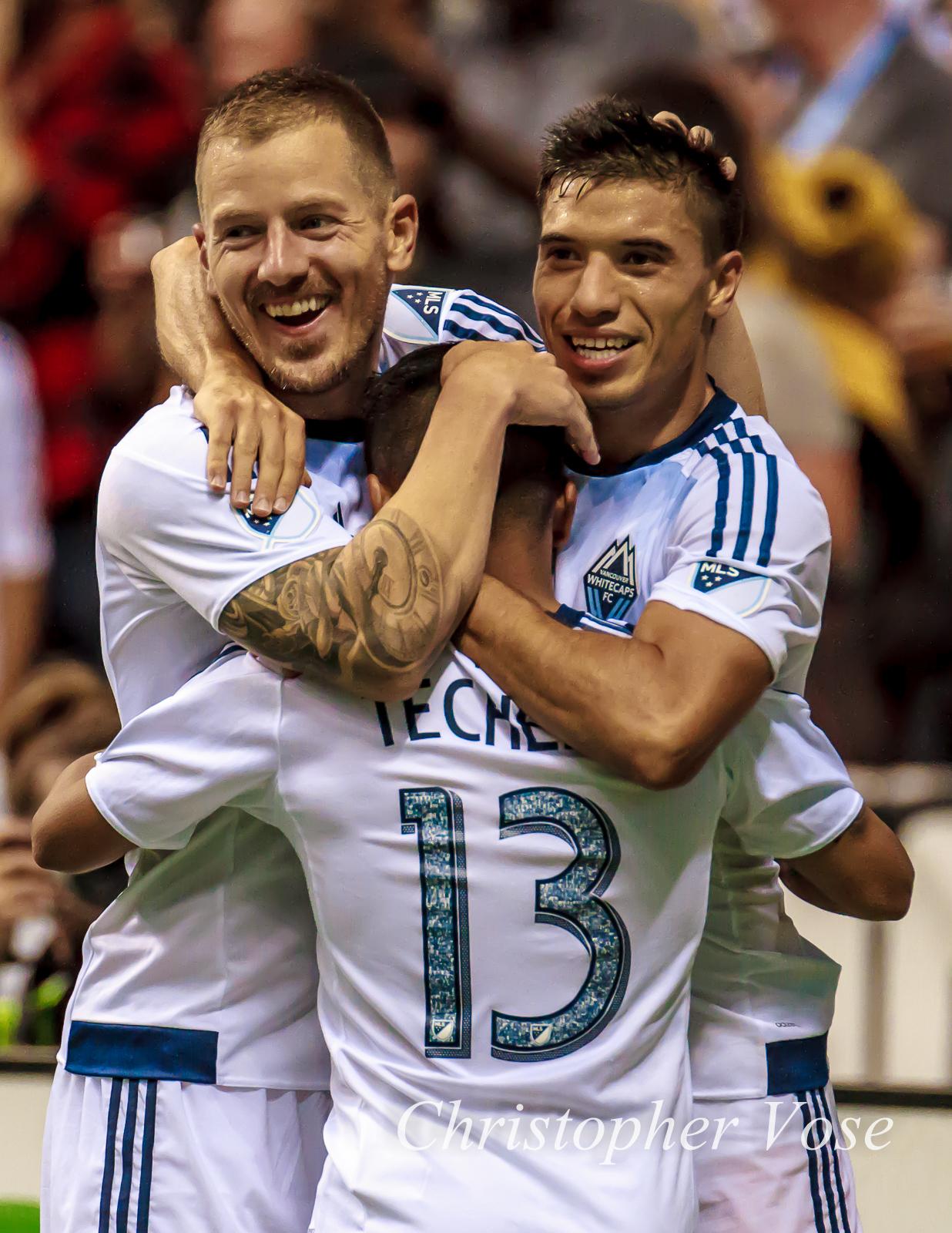 2015-08-08 Cristian Techera's First Goal Celebration 1.jpg