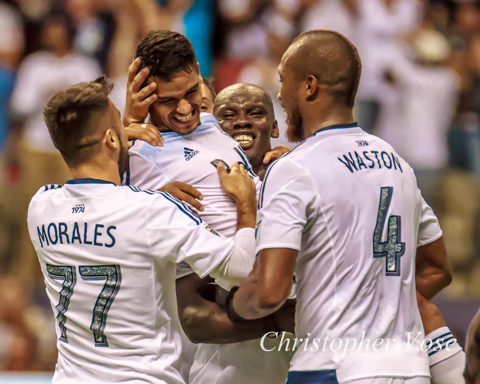 2015-08-08 Cristian Techera's Second Goal Celebration 1.jpg
