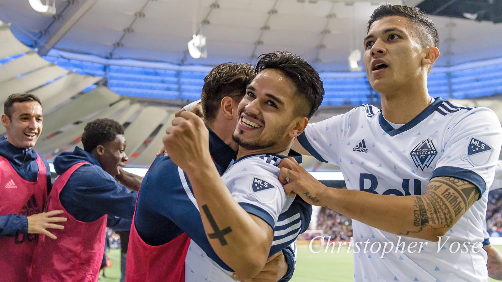 2017-10-25 Cristian Techera Goal Celebration 2.jpg