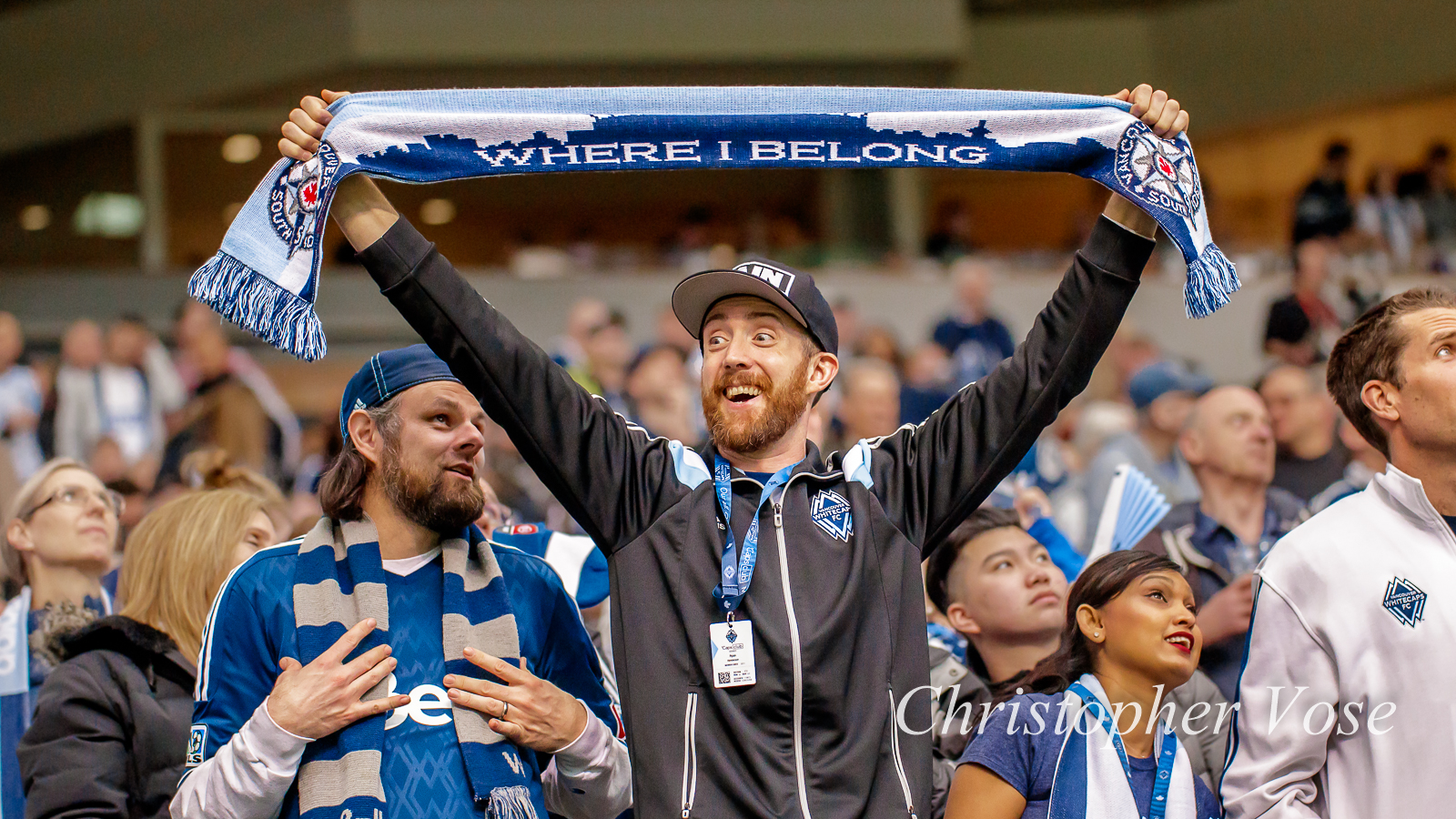 2018-03-04 Vancouver Whitecaps FC Supporters Goal Reaction (Davies).jpg