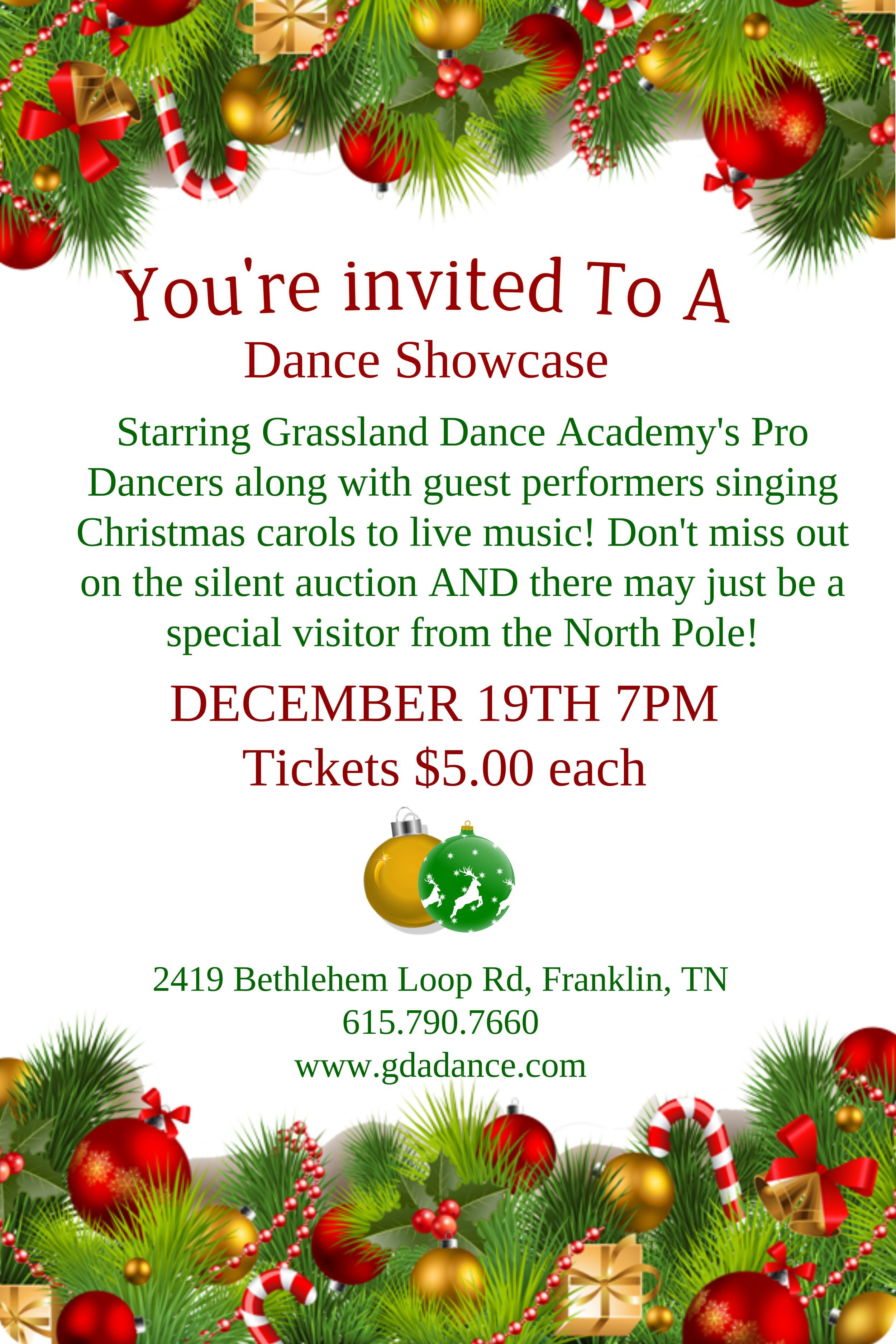 GDA Pro Dance Showcase