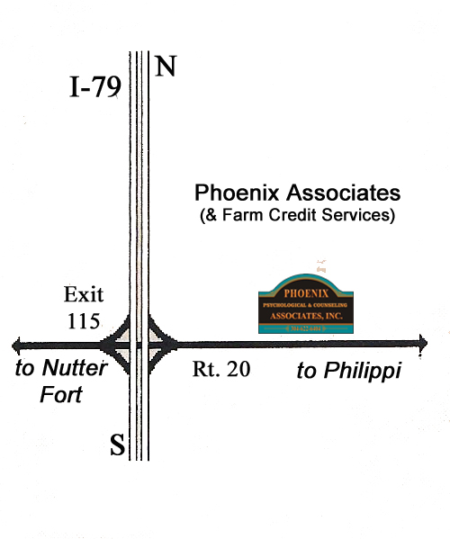 PHOENIX ASSOCIATES is located on Route 20 in Quiet Dell.