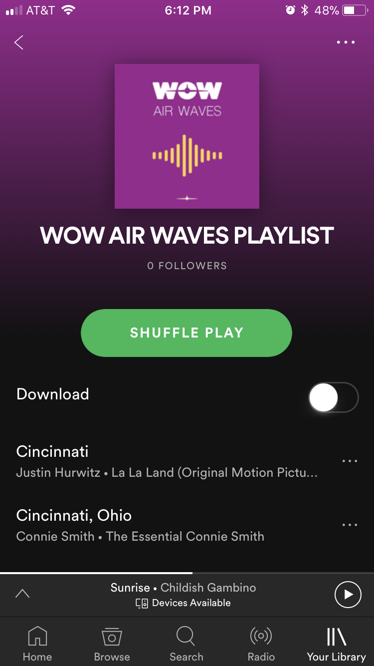 Every travel adventure needs a soundtrack. - We've got one that covers all the feels. (Even those Cincinnati, OH vibes)