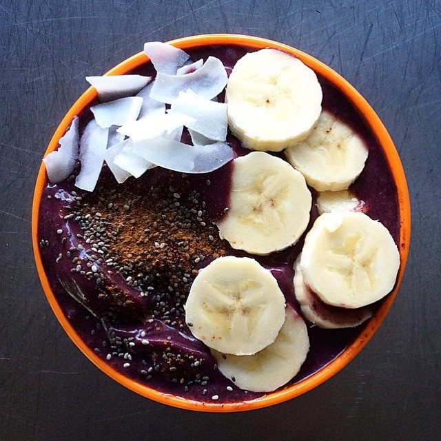 | Spicy   Açaí  bowl by @inspired_kitchen   |