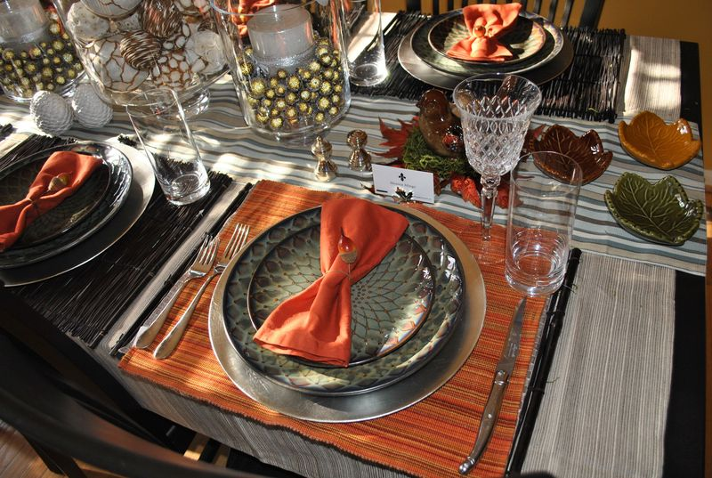 2010 Thanksgiving Tablescape Planning