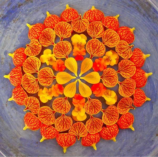 Mandala by Kathy Klein
