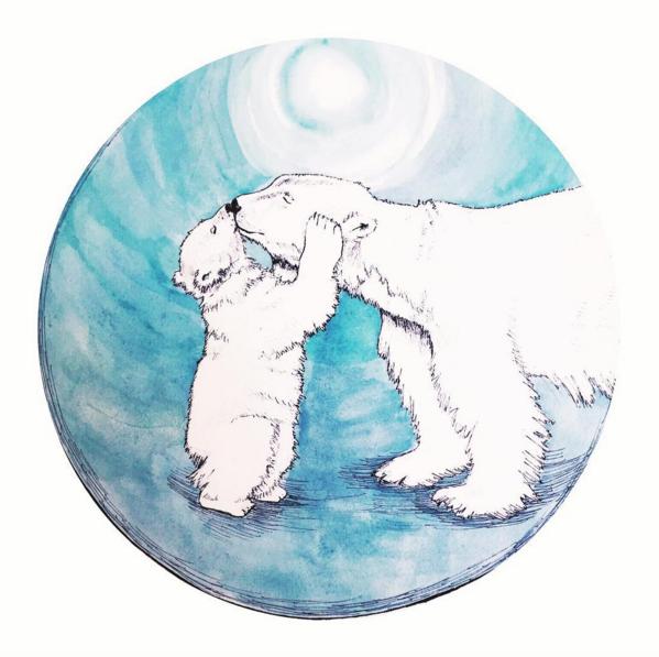 New Moon Circle Journal  artwork by Savannah King