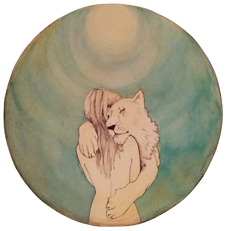 Artwork by Savannah King from  The New Moon Circle Journal