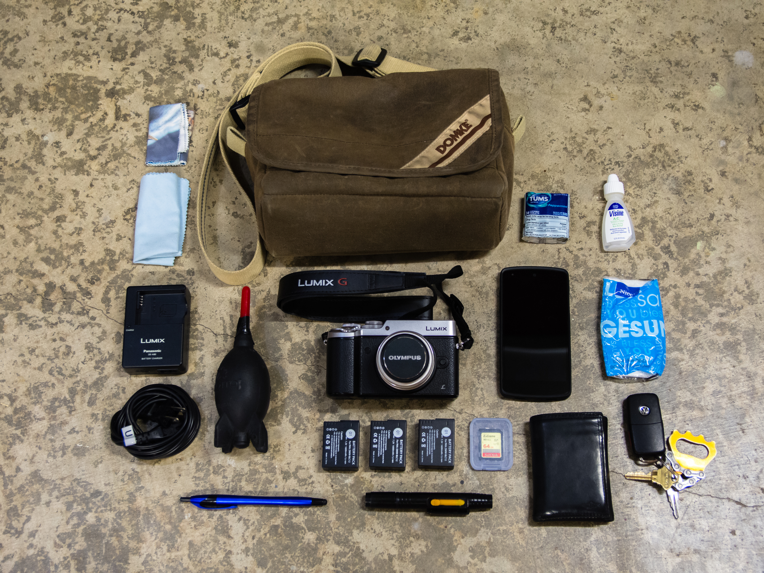 My daily camera kit