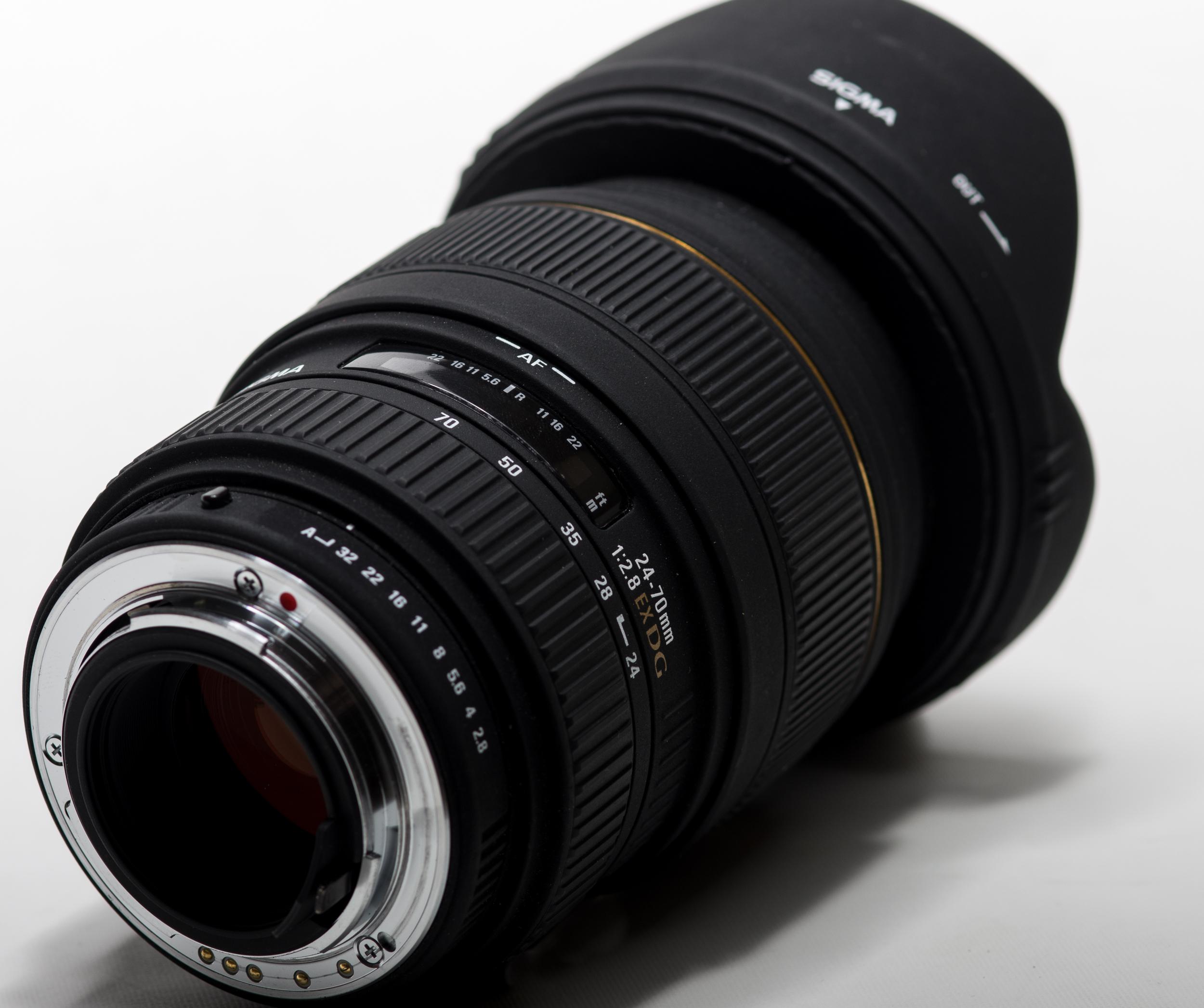 Sigma 24-70mm 2.8 EX DG Macro