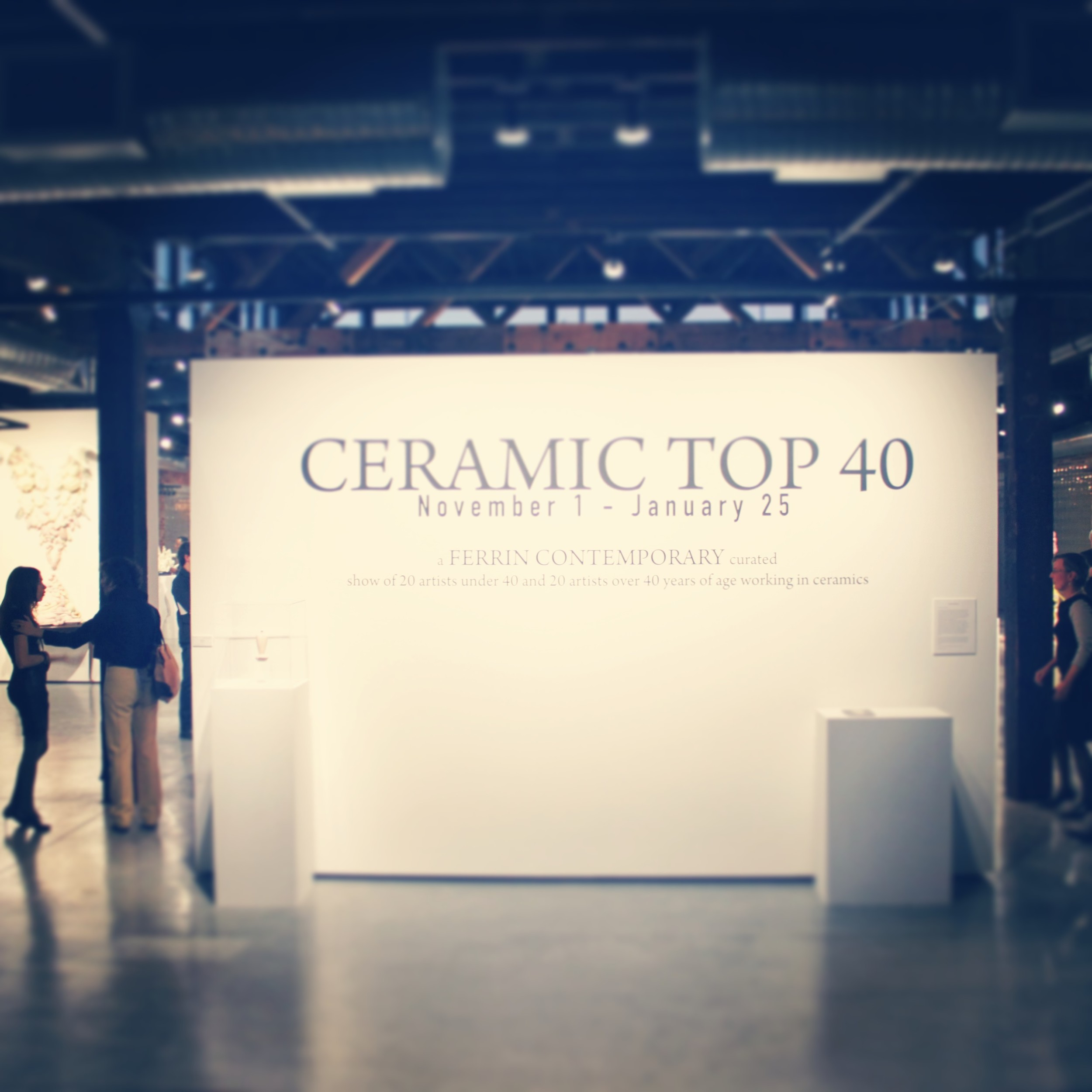 Ceramic Top 40 at Red Star Gallery, Kansas City, Missouri. November 2013