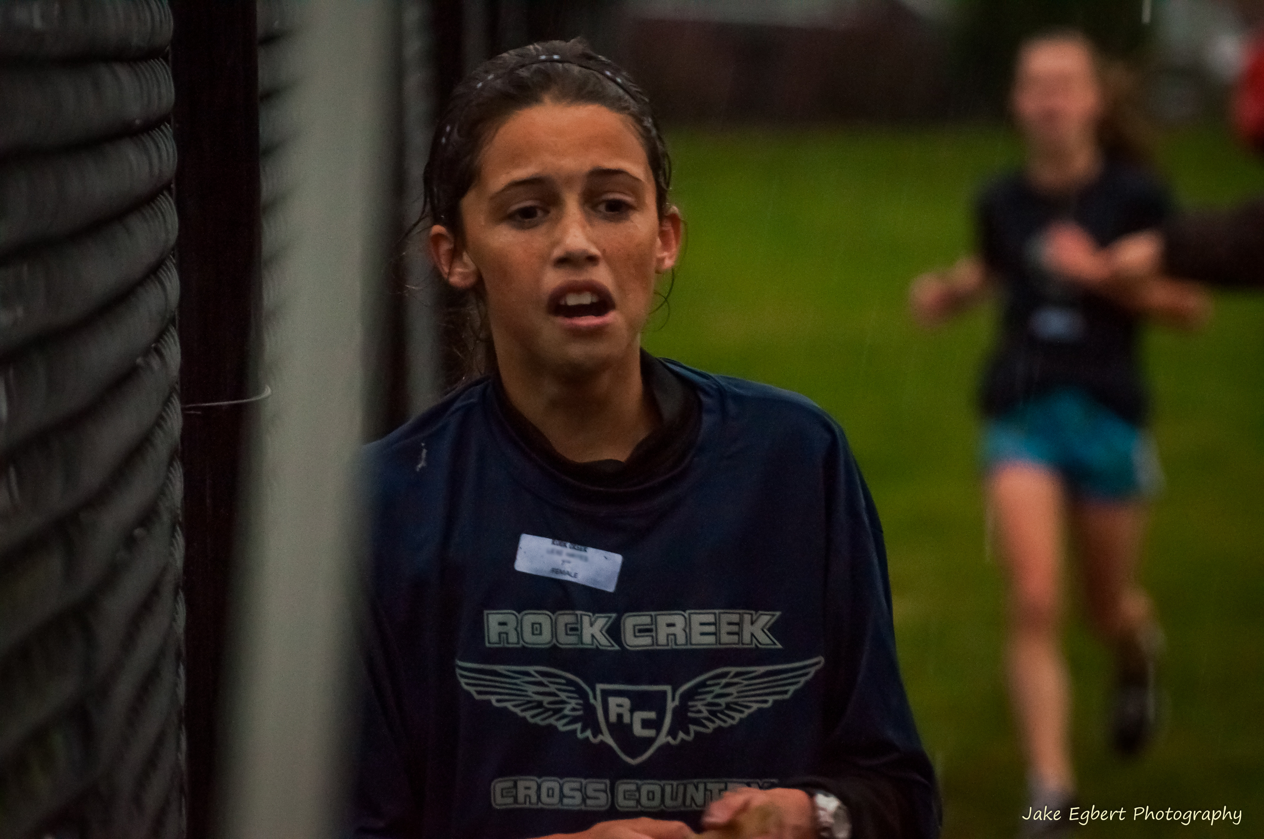 2012 Girls Champion - Meet held at Happy Valley Middle School in torrential rain. One heck of a run!