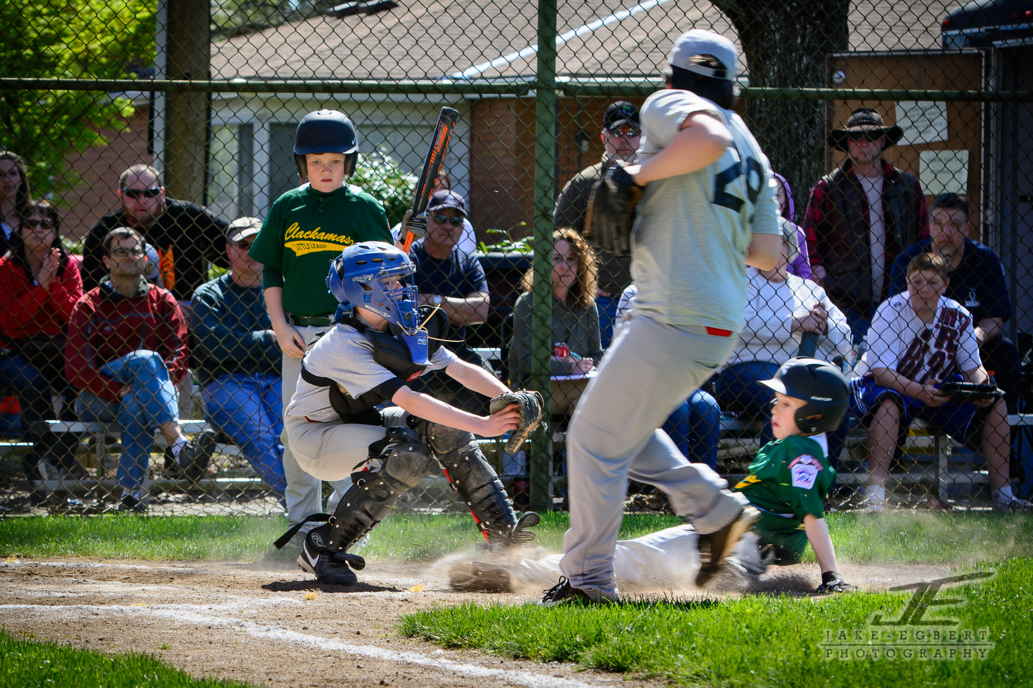 2014-04-12 - CLL Majors Green Sox vs. Portland/Powell Volcanoes - Click through to see the game gallery and store.