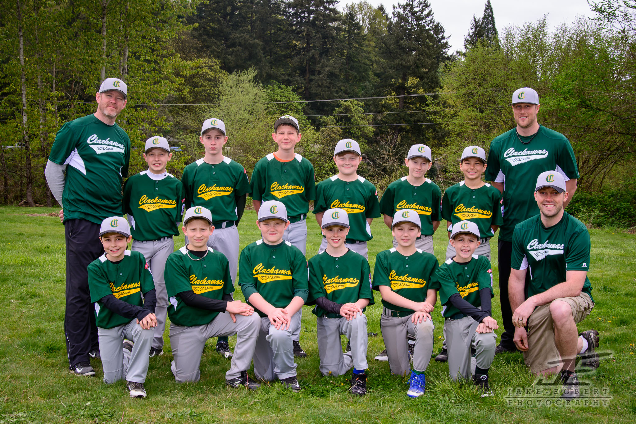 2014-04-12 - CLL Majors Green Sox Picture Day!