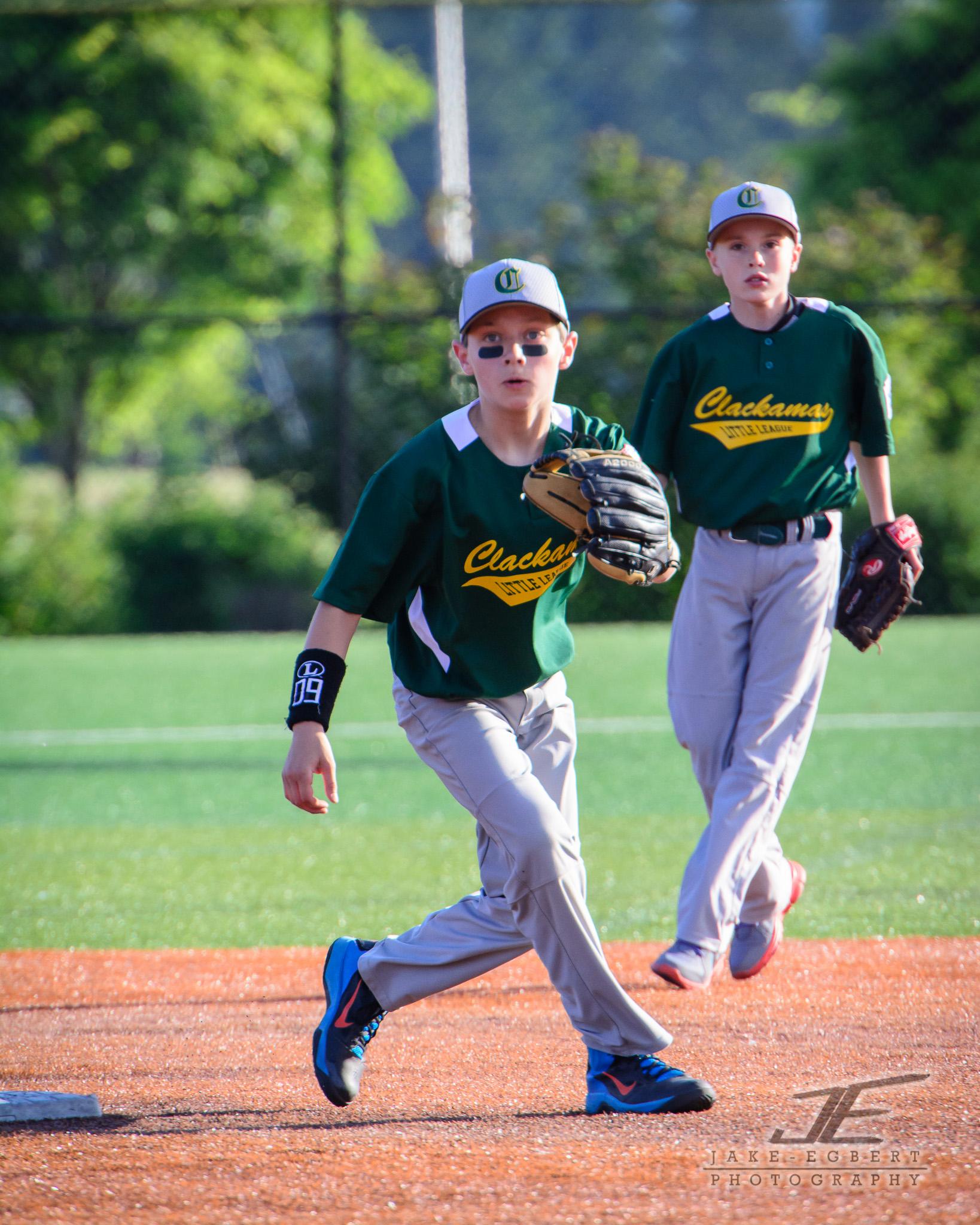 2014-05-17 - Clackamas Invitational Tournament - CLL Majors Green Sox vs. Scapoose Tribe