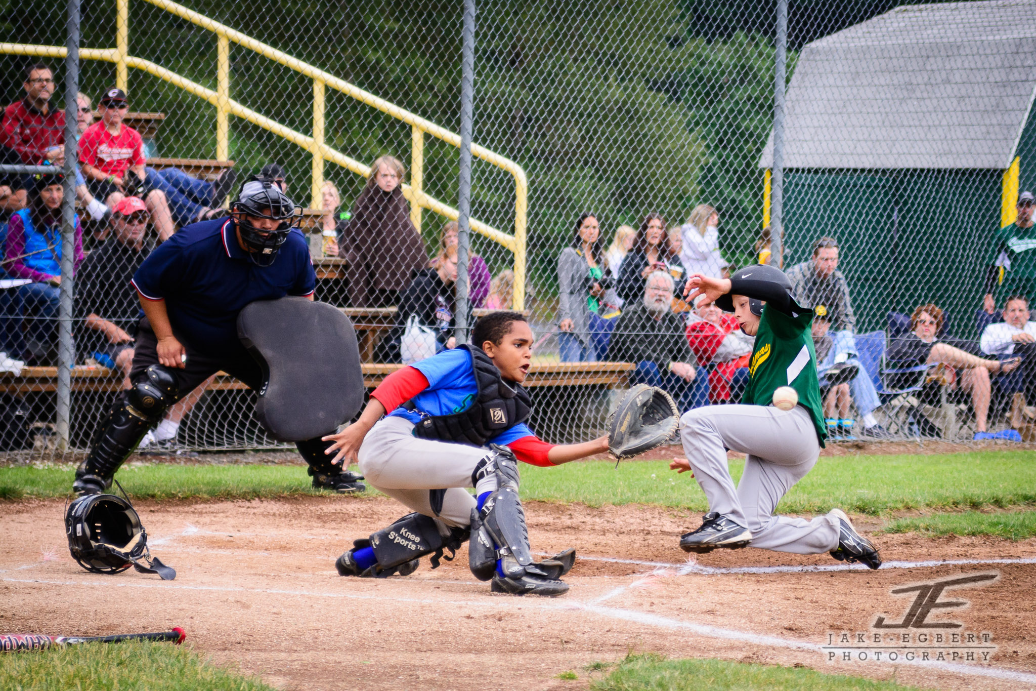 2014-06-14 - CLL Majors Green Sox vs. Portland/Powell Bandits 0