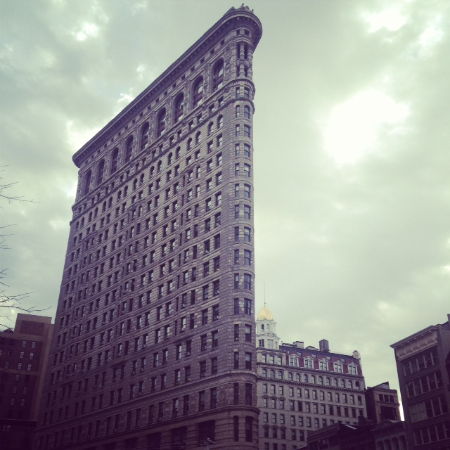 The Flatiron Building. Home of Macmillan.