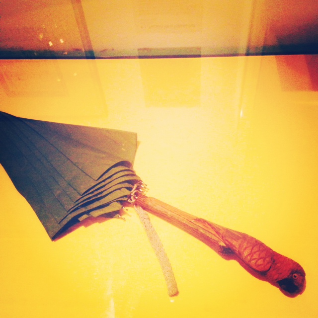 PL Travers's umbrella. This pic is specially for my colleague ALG.