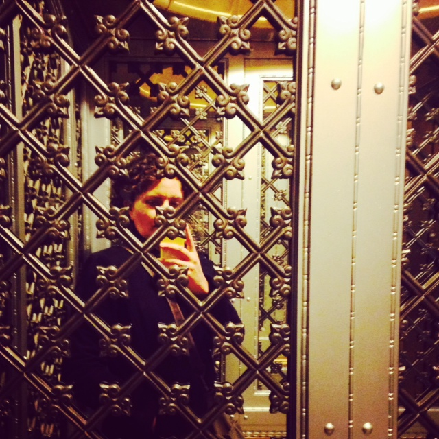 The swoonworthy elevators in the Flatiron building.