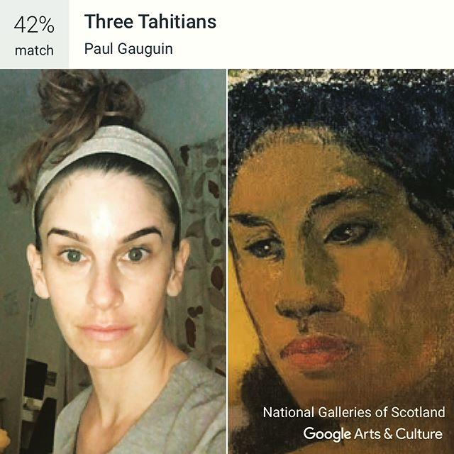 I guess I'm ethnically ambiguous now. #googleartsandculture