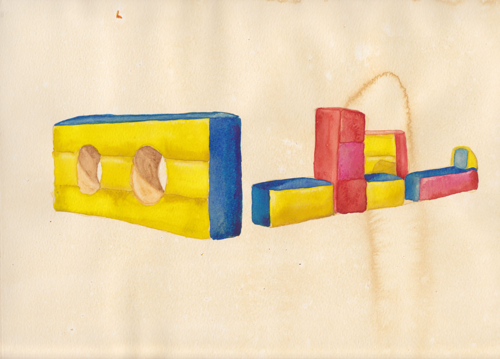 watercolor and ink on paper, 21 x 30 cm, 2011