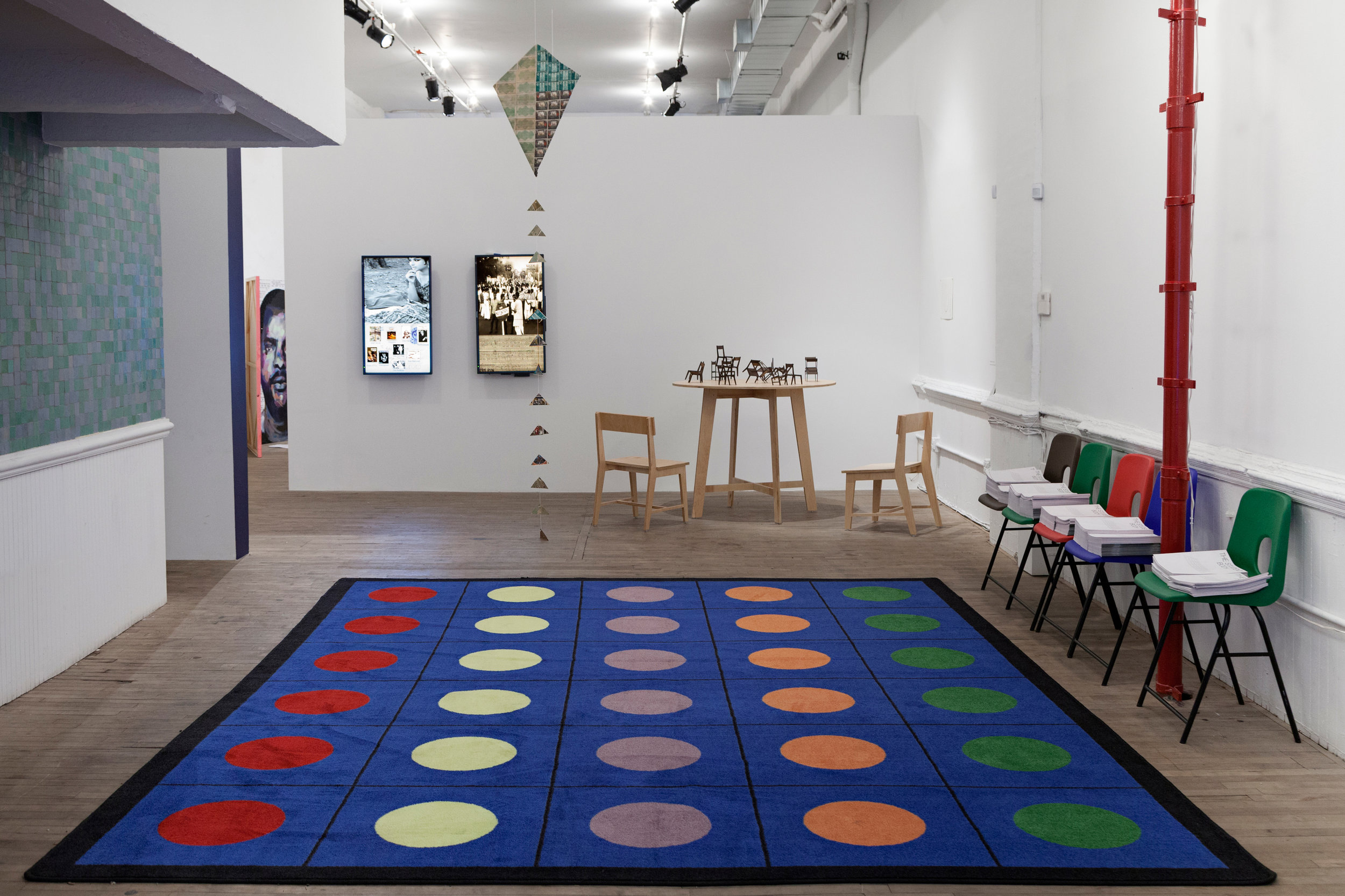 The Student Body , installation view, Artists Space, New York, Photo: Gustavo Murillo Fernández-Valdés