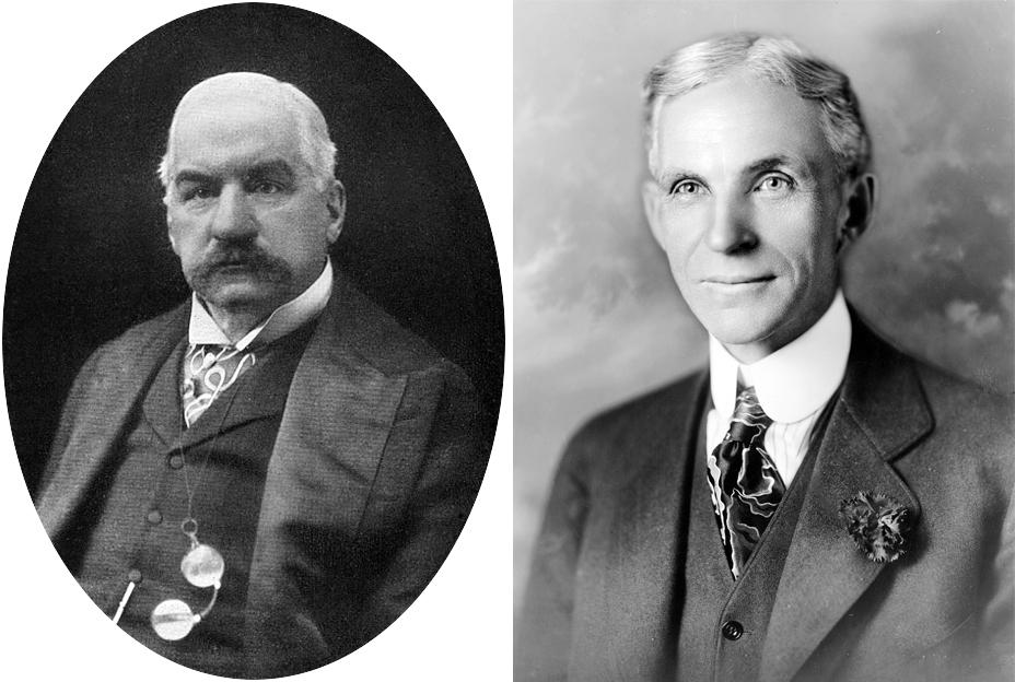 J.P. Morgan vs. Ford – compare...