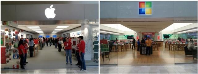 Apple vs. Microsoft – compare...