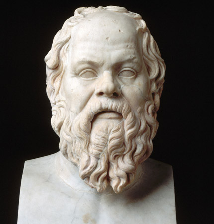 Socrates, famous for The Socratic Method