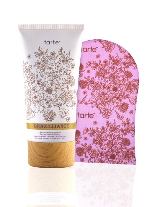 Tarte Brazilliance Skin Rejuvenating Maracuja Face and Body Self-Tanner with Mitt