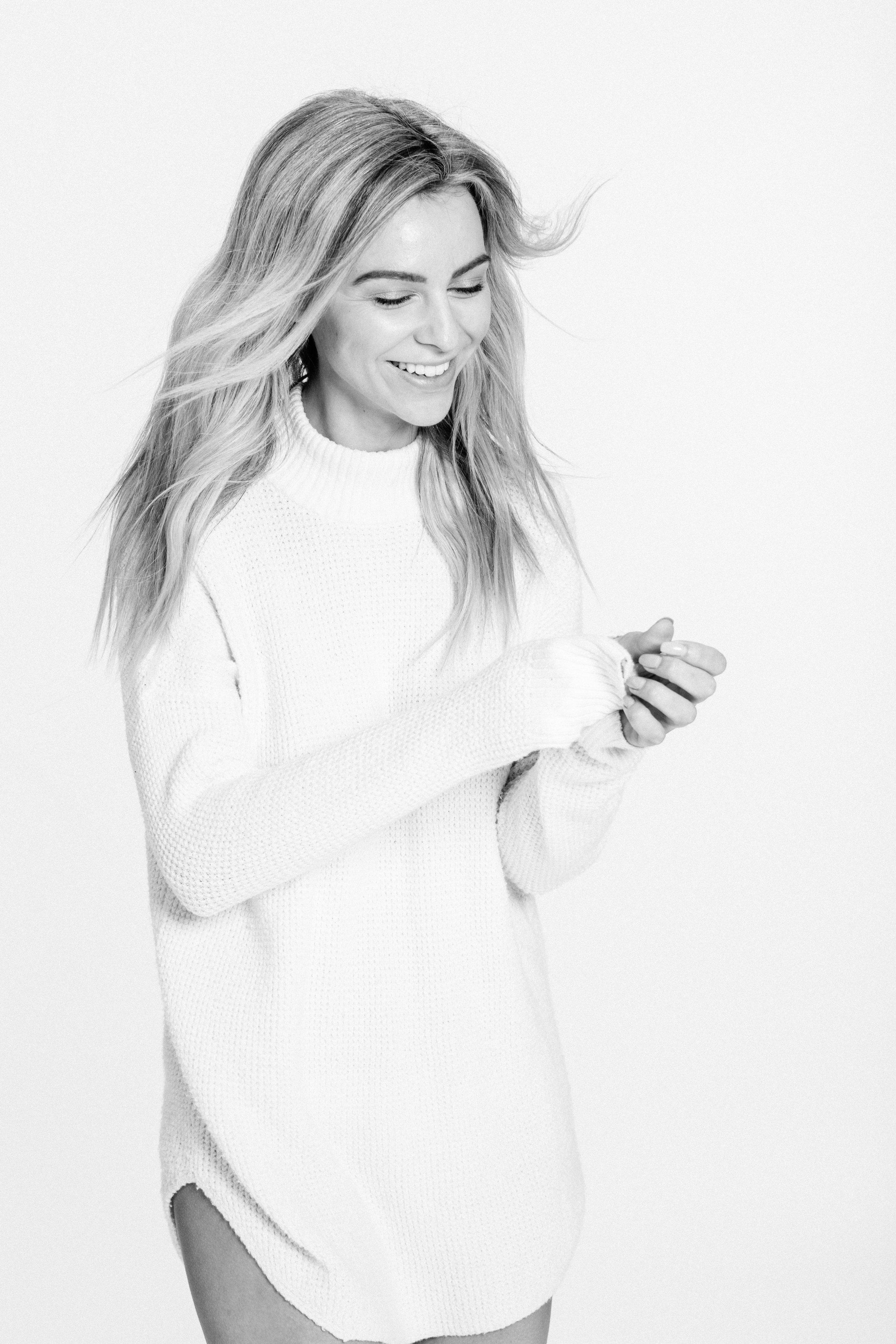 Youtube V-Logger #MelissaMerk photographed by Anick Violette. #Makeup by Katie Elwood using #YSLBEAUTY #NATURALMAKEUP Hair by Jade Kugelman using #KEVINMURPHY