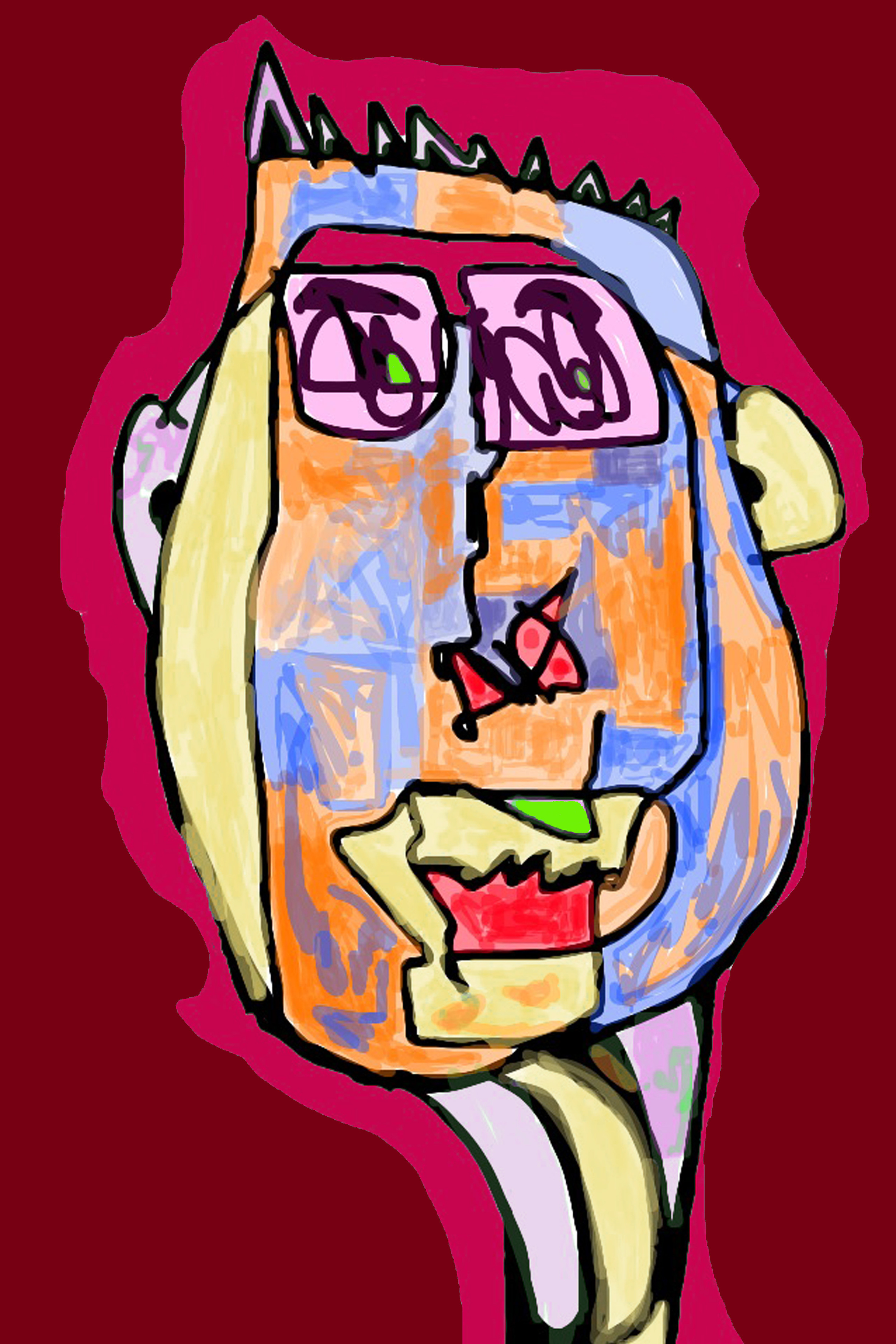 My Head Is Full Of Vin Rouge  copyright Thomas v. Klettenberg