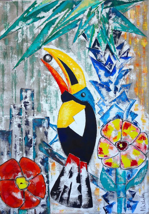 Le Toucan à la Perle