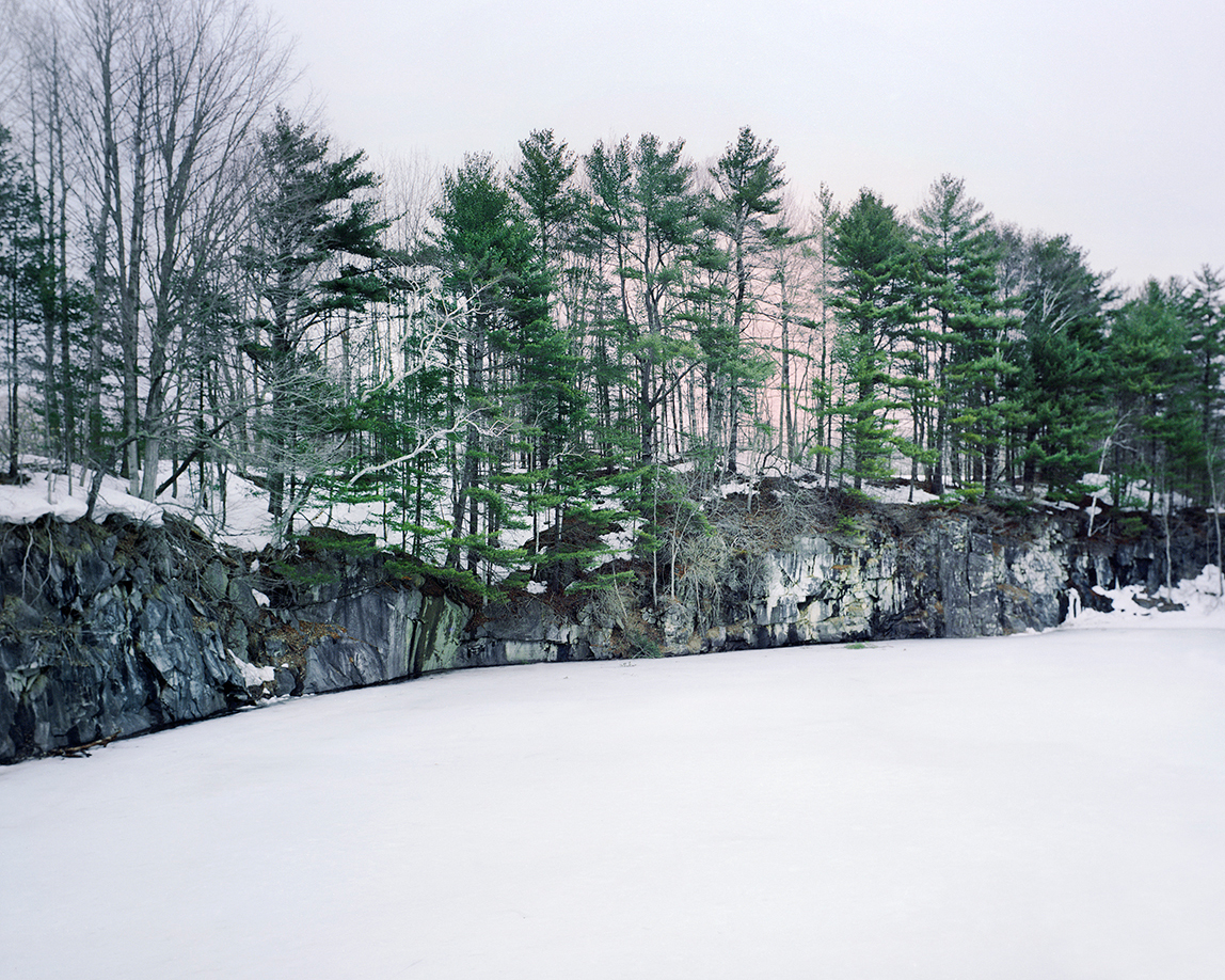 Winter Quarry