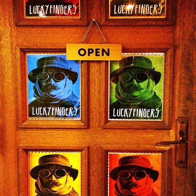 Luckyfingers is open.