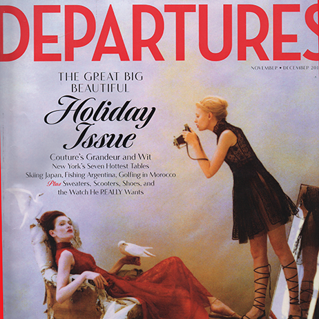 As featured in Departures 2015