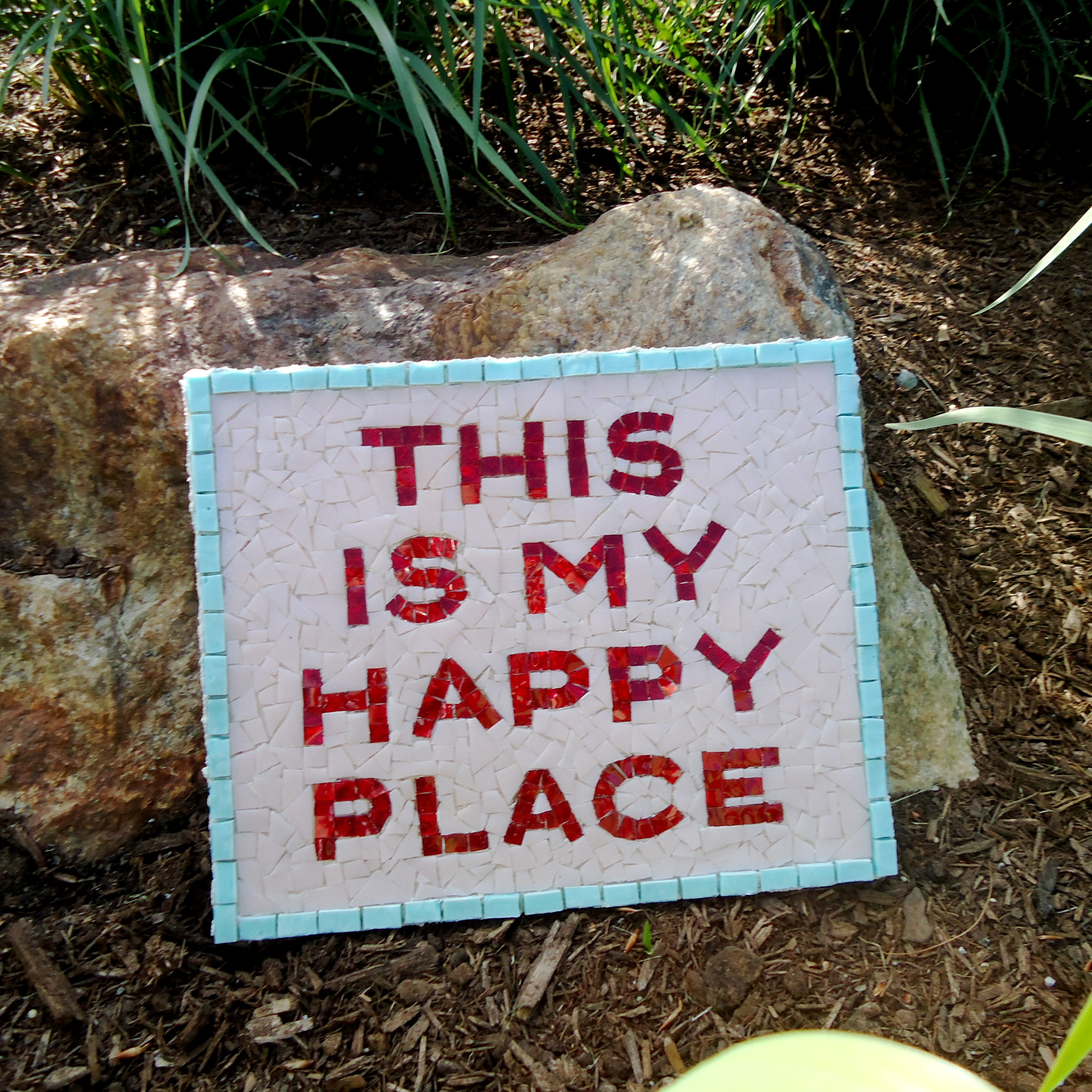 This Is My live in mosaics Happy Place Saying wall art Home.JPG