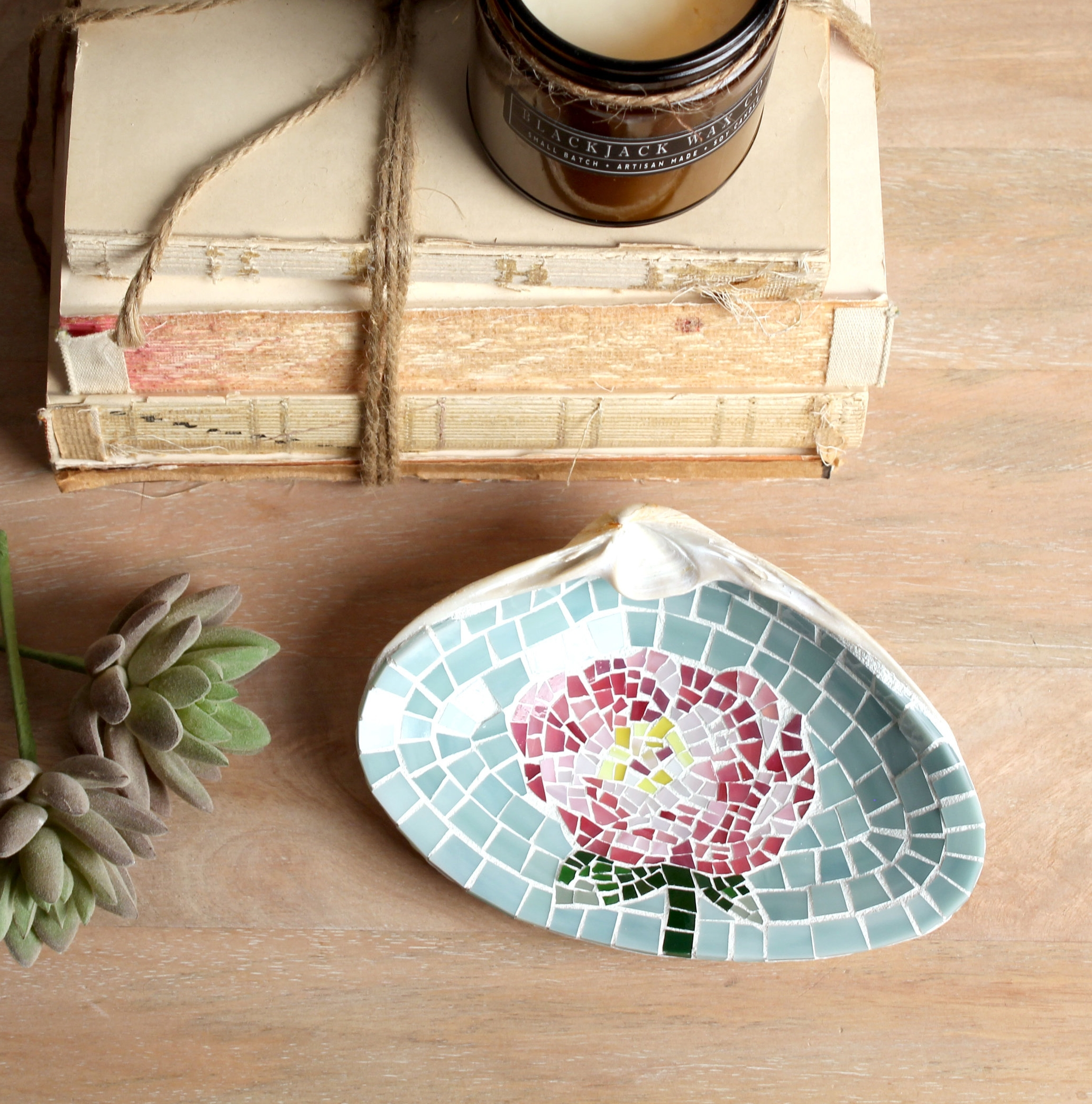 Pink_peony_flower_ring_dish_mosaic_stained_Glass_tile.jpg
