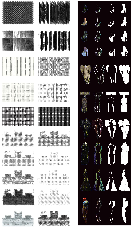 Mis-reading the original Ledoux Drawings & Body/Mis-fit Diagrams