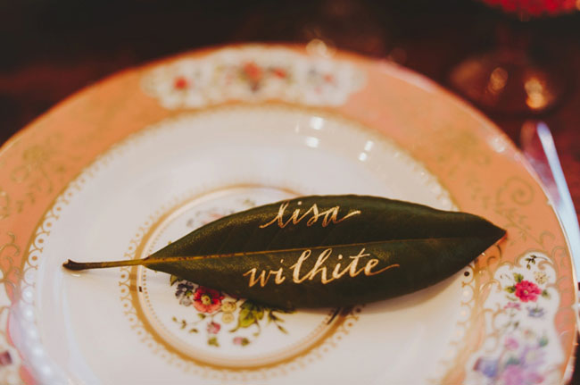 Magnolia Leaf Calligraphy by Just Write - Wild Green Yonder Flowers - Nessa K Photography.jpg