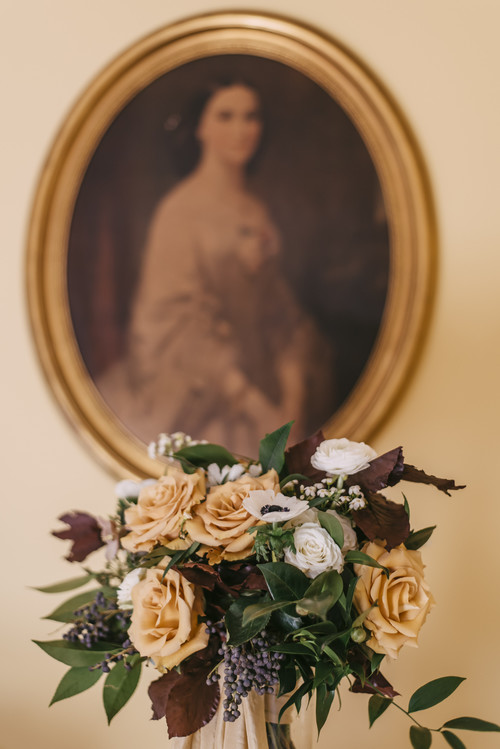 Belle Grove Plantation Wedding | Wild Green Yonder Bouquet