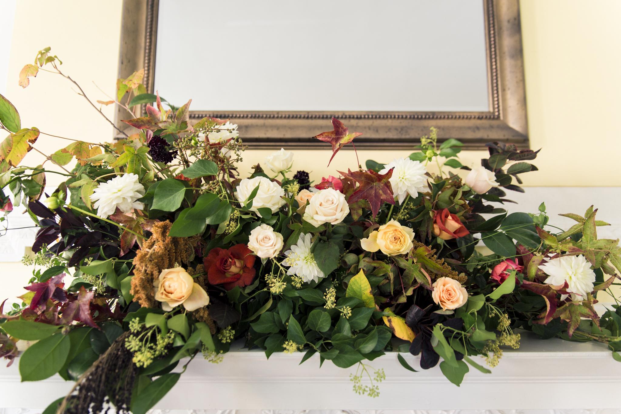 Josephine Butler Parks Center Wedding | Wild Green Yonder Flowers