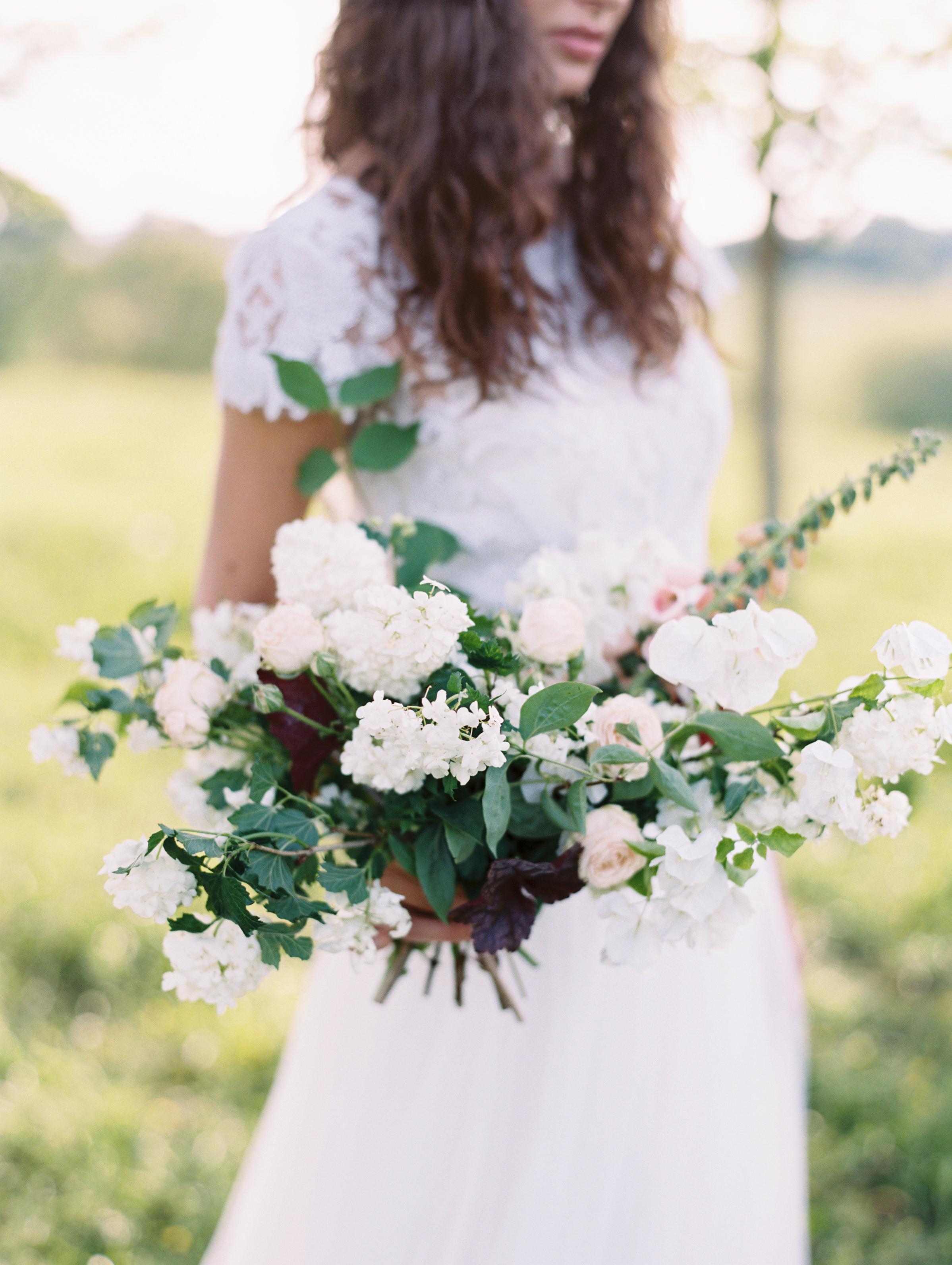 Middleburg Wedding Inspiration | Wild Green Yonder Bouquet